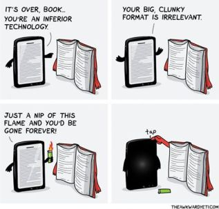 Digital vs. Paper Books