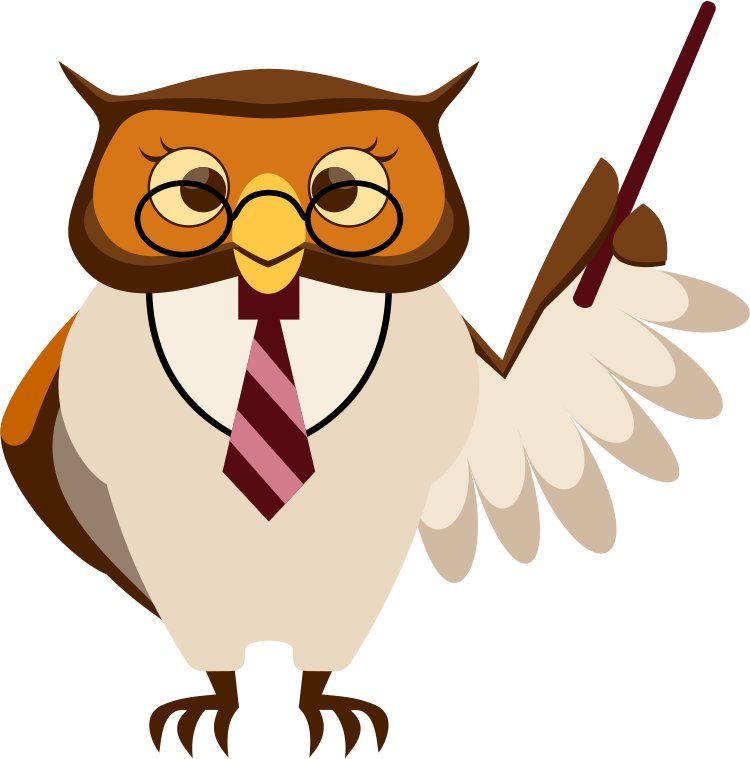 teacher-owl clip-art