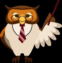 teacher-owl clip-art