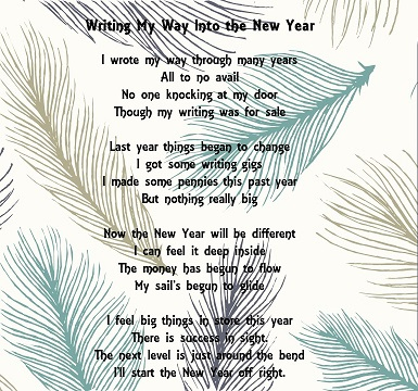 Writing My Way Into the New Year
