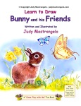 LEARN TO DRAW BUNNY AND HIS FRIENDS cover