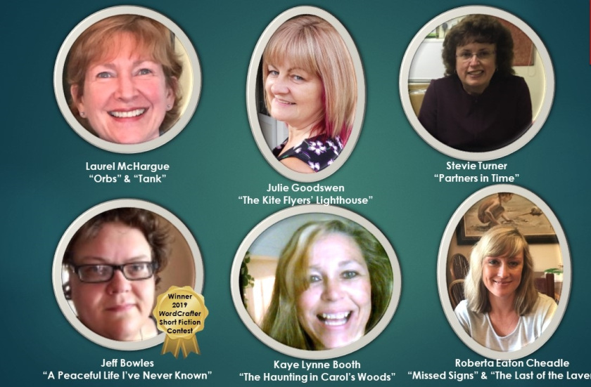 Author pictures who collaborated on the Whispers of the Past Anthology