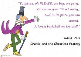 Quotes about Reading roald dahl (23 quotes)